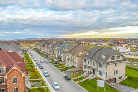 large build: Living homes in Canada