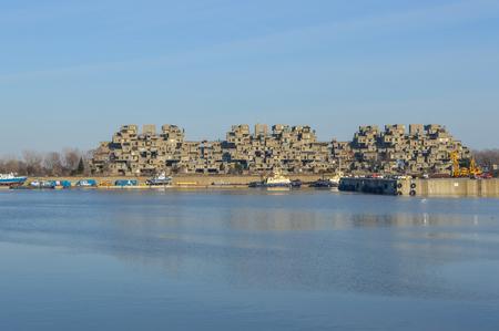 Habitat 67 Apartments - Montreal - Canada