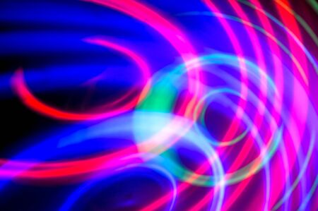 Abstract background. Blue, green and purple circles for background