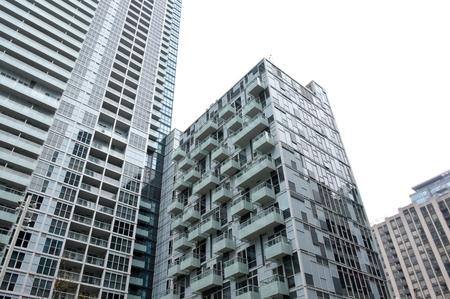 Toronto, Canada - November 16, 2016:Residential buildings in downtown Toronto Ontario Canada.