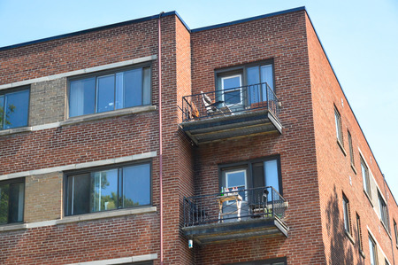 penthouse: Modern condo buildings in Cote Saint-Luc, Canada