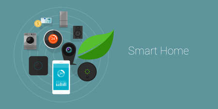 smart home: Smart Home Internet of Things objects