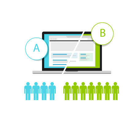 tests: AB Testing web design and development testing metodology