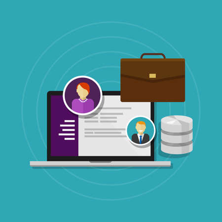 database: employee database human resource software system HRIS
