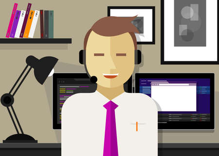 work experience: call center crm customer relationship management icon