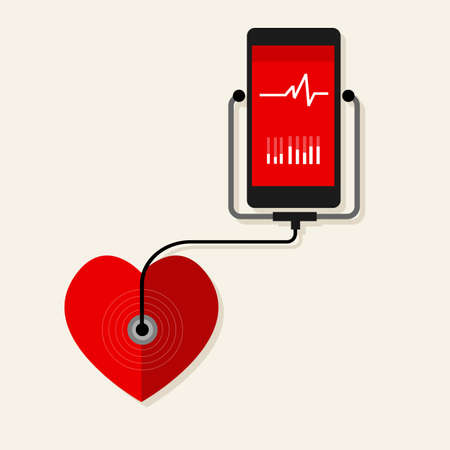 health heart rate mobile monitoring phone wearable device