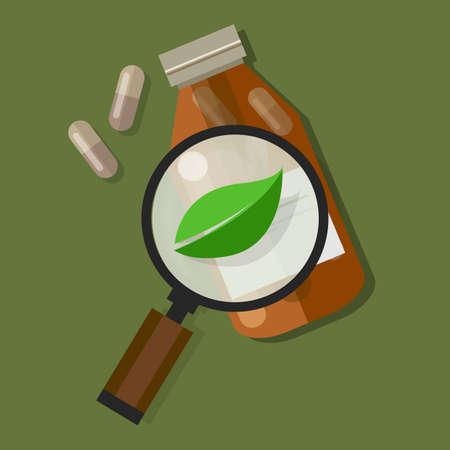 natural healing: herbal natural medication health nature green leaf healing