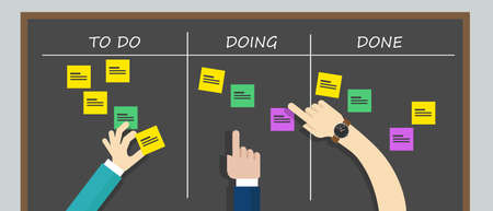 kan ban to do list board kanban collaboration planning task