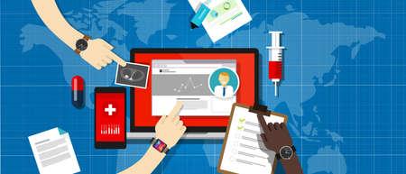 Здоровье: здоровье Медицинские записи данных больницы базы данных информационной системы