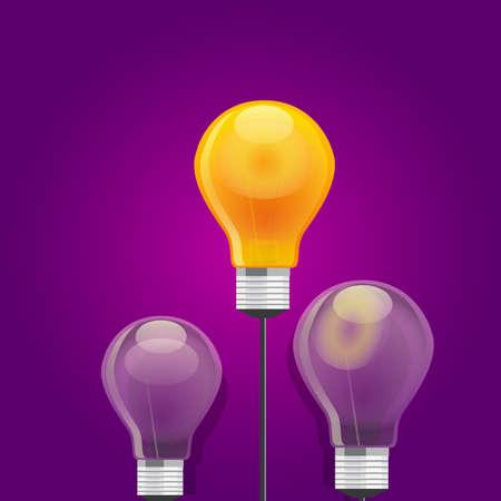 illuminated: idea compete best bulb shine light lamp illuminated leadership