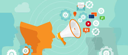 buzzer online digital promotion spreading media marketing communication