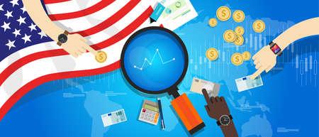 monetary: america usa united states economy financial monetary positive