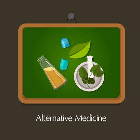 medicina natural: la homeopatía natural de la medicina alternativa forma tradicional de la salud