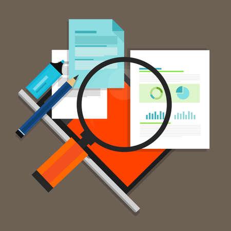 RFP Request for propossal voorstel illustratie flat pictogram Stockfoto