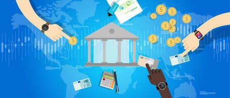 international banking: international central bank banking industry market financial transaction