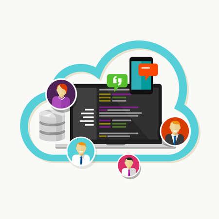 git: programming web development team collaboration versioning cvs git hub