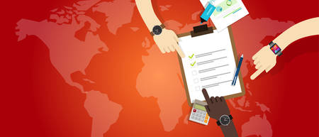 emergency plan team work management preparation cooperation vector