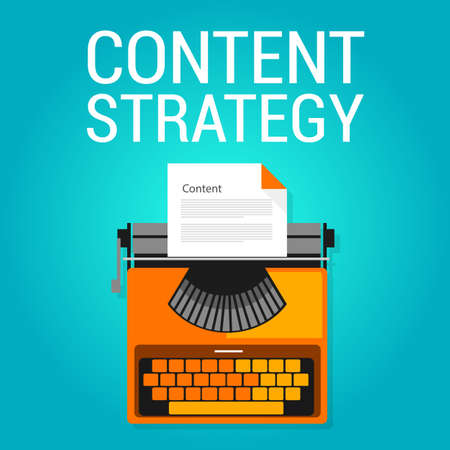optimize: content strategy seo marketing blog  search engine optimization concept vector