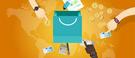 price pricing concept commerce business market buy money vector Banco de Imagens - 45003703