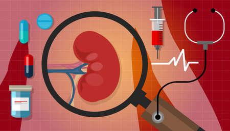 medical cure: cancer health medication anatomy medical care cure vector Illustration