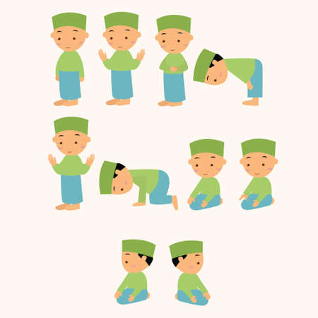 pray: kids pray praying shalat islam moslem  boy move to god