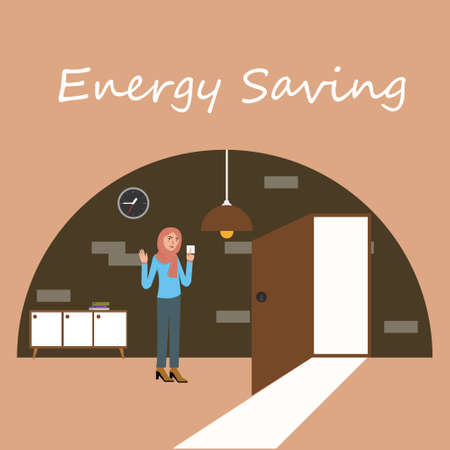 saving electricity: energy saving electricity switch off lamp turn-off bulb light