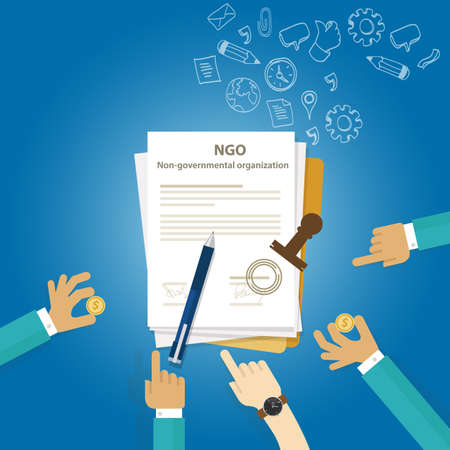 incorporate: NGO Non Government Organization Types of business corporation organization entity