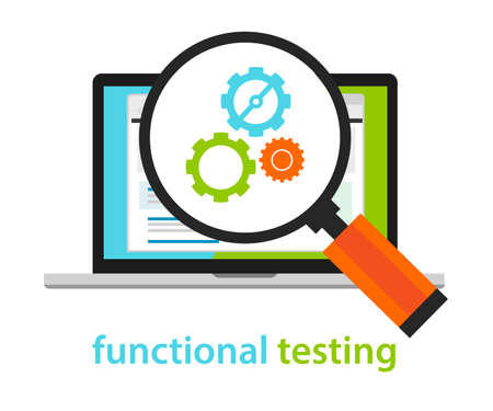 Functioneel testen software ontwikkel proces methodologie Stockfoto - 53969365