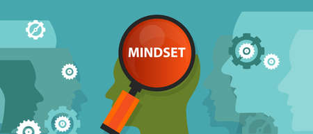 人脳精神顧客信念ベクトル中肯定的な考え方