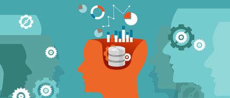 scientifique de données graphique de données des sciences de la base de données de penser vecteur calcul