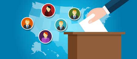 government: electoral college USA politics representative senator