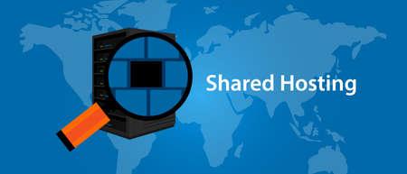 Infrastruttura di servizi web condivisi di hosting
