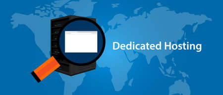 dedicated server web hosting services infrasctructure technology