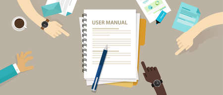 guidebook: user guide manual instruction book document paper reference