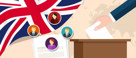 democracy: UK United Kingdom England democracy political process selecting president or parliament member with election and referendum freedom to vote