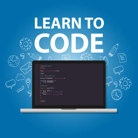 studying computer: Learn to code programming language study practice education
