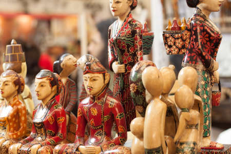 wooden statue craft made from wood souvenir decoration carving object product