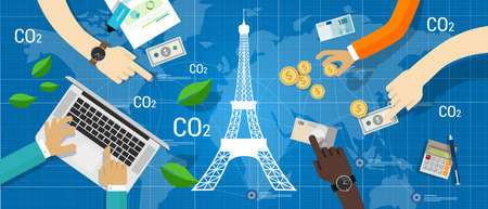 Parijs akkoord klimaatakkoord wereldwijde reductie van koolstofemissies
