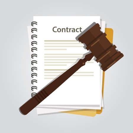 Law concept illustration.