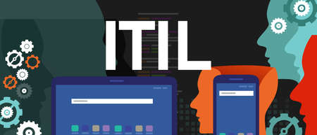ITIL Information Technology Infrastructure Library concept business
