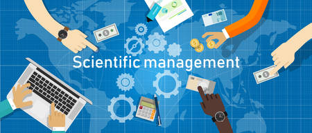 Scientific management. Theory of management that analyzes and synthesizes workflows. Its main objective is improving economic efficiency, especially labor productivity