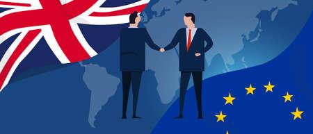 UK European union international partnership bilateral cooperation deals. United Kingdom and Europe relationship