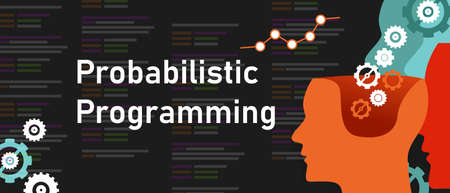 Probabilistic programming coding software line of code probability predicting decision