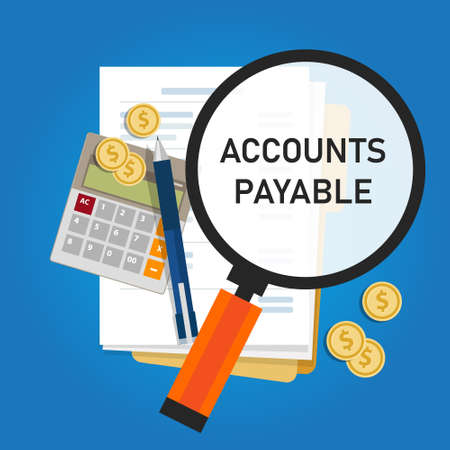 Accounts payable accounting term within the general ledger that represents a company obligation to pay debt to its creditors or suppliers