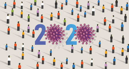 2020 corona virus problem year attention by crowd people audience information gather public awareness