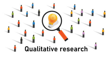 qualitative research method statistics survey get data from market research analysis