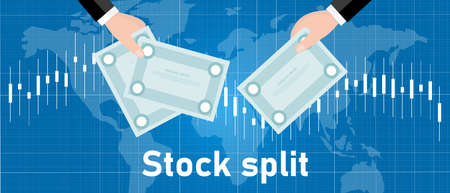 stock split company do exchange transaction to increase the number of shares by issuing more shares to current shareholders