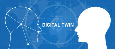 digital twin technology for modelling into virtual world simulation