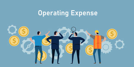 operational expense opex company operating cost businessman management