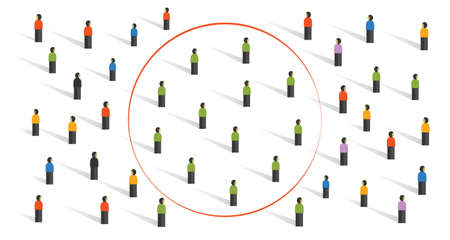 echo chamber filter bubble connecting people with same similar ideas in crowd online